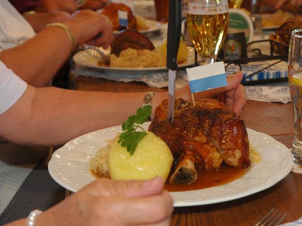 Fränkische küche oberes maintal coburger land gastronomie restaurant
